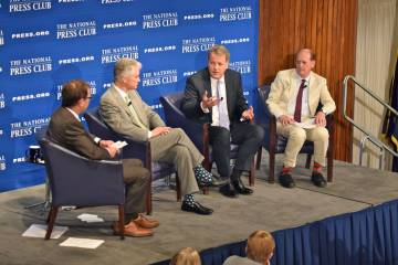 United, American and Delta CEOs at National Press Club