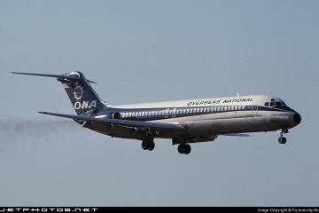 "Overseas National Airways DC-9 ""Carib Queen"""