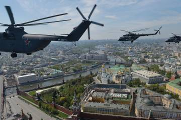 Russian Helicopters Mi-26s