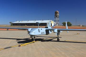 Royal Australian Air Force Heron unmanned aircraft