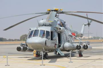 Mil Mi-17V5 on the ramp