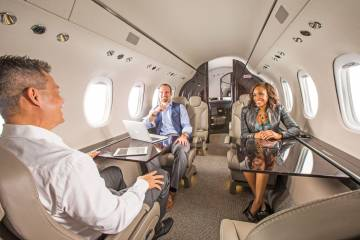 The Citation Latitude cabin