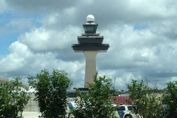 Washington Dulles International Airport tower