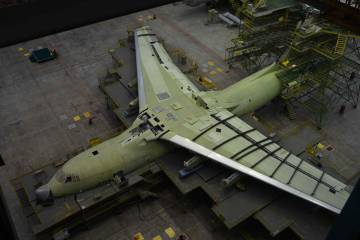 Il-76 production line