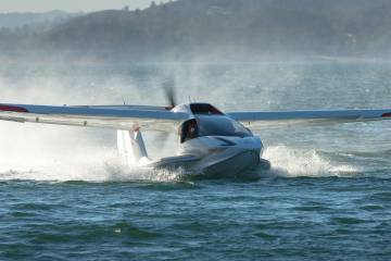 Icon A5 on the water