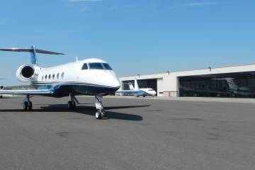Key Air started operation with a Hawker 700. Today the fleet includes a Falcon 2000LX, Falcon 7X, Gulfstream IV-SP and G650ER.