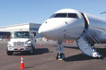 Signature Flight Support's newly built FBO at Norman Y. Mineta San Jose International Airport (SJC) in the heart of California's Silicon Valley