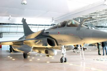 A French air force Rafale