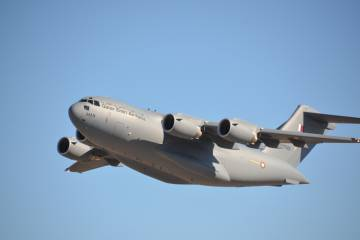 Last Boeing C-17 produced in California