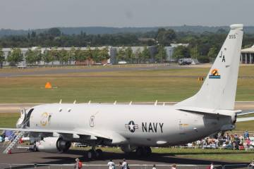 P-8 Poseidon at Farnborough