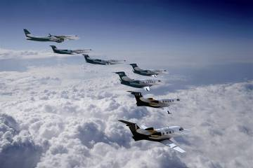 Embraer product line