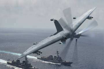 DARPA TERN unmanned aircraft concept