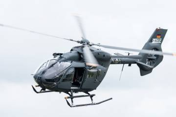 Airbus Helicopters H145M in flight