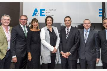 Airlines for Europe launch event