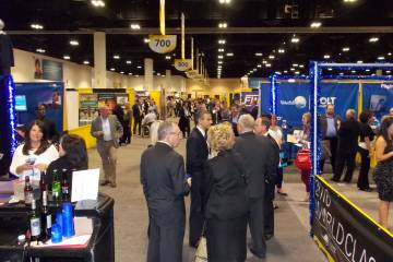 The exhibit hall at SDC 2016