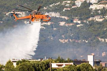 Erickson's massive Aircrane shows its worth in firefighting, but the company offers plenty of other services: energy, construction, timber harvesting and oil-and-gas. It is self-sufficient at remote locales.