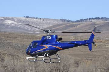 H125 with FastFin in flight