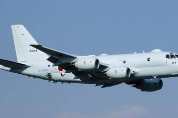 Honeywell Defense and Space is the leading overseas supplier to Japan's Kawasaki P-1 maritime patroller program. photo: Japan Maritime Self-Defense Force