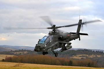 U.S. Army AH-64 Apache helicopter
