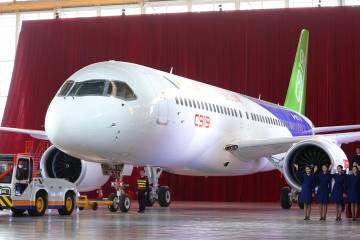 Though China's C919 has had its peaks and valleys, Honeywell president for Aerospace Asia Pacific Briand Greer remains bullish on opportunities for long-term value in its involvement in both.