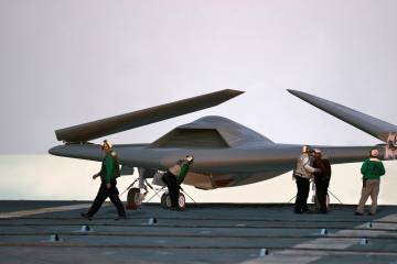 Lockheed Martin concept of Navy unmanned aircraft