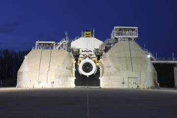 GE9X first engine to test