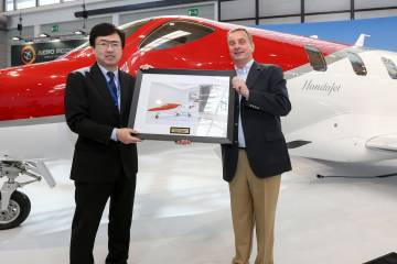 HondaJet European delivery