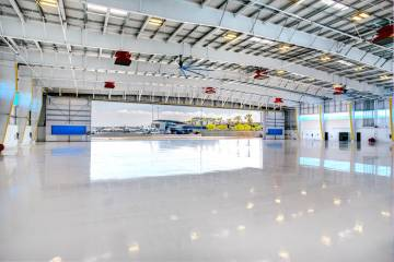 Atlantic's New Hangar at LAX