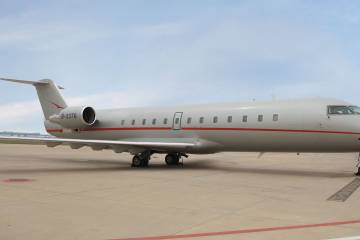 Swiss-based VistaJet operates 60 fully owned Bombardier business jets.