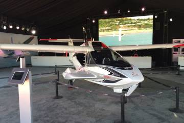 Icon A5 on display