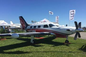 Piper 600M on display