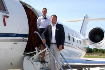 MHS Aviation CEO Steffan Fries likes to become involved with clients from the very early stages of an aircraft acquisition.