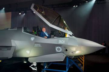 F-35 roll-out in Israel
