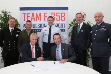 Pratt and Whitney and Rolls-Royce have committed to a Performance-Based Logistics (PBL) approach in support of the UK's F-35B Lightning II fleet.
