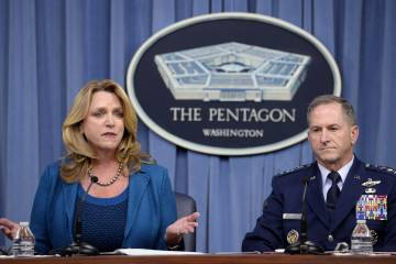 State of the Air Force briefing at Pentagon
