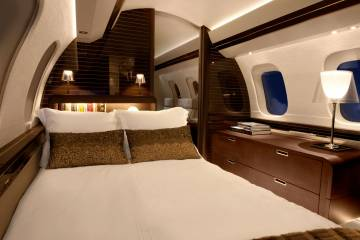 Global 7000 cabin interior