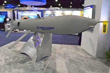 General Atomics reusable concept SUAS vehicle