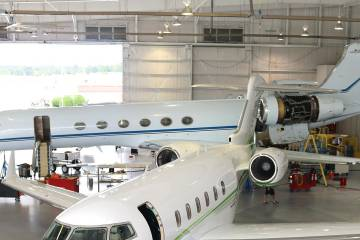 Stevens Aviation, with facilities in South Carolina, Tennessee and Ohio, has expanded the list of Gulfstream models it is authorized to support. Stevens also works on Bombardier, Beechcraft, Cessna, Embraer, Piaggio and Pilatus aircraft.