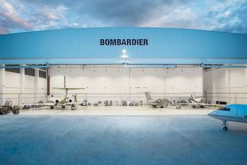 Bombardier's service centers are growing in number, with a new 30,000-sq-ft facility scheduled to come on line in 2018. The Canadian airframer is focusing on adding support capability in places where the fleet is expanding.