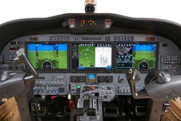 Duncan Aviation will exhibit a Citation CJ3 equipped with a Rockwell Collins touchscreen-capable Pro Line Fusion avionics suite at this year's NBAA show. NextGen mandates are high on the company's priority list.