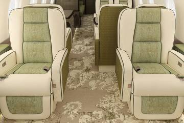 Through its Inairvation retrofit packages, Flying Colours can give a completely new look to the cabins of business aircraft.