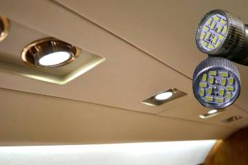 Aircraft Lighting International's LED replacement lights can fit almost any business jet, says the company.