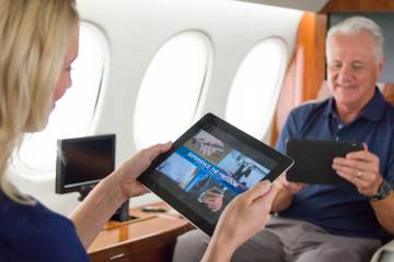 There seems to be no limit to passengers' appetite for in-flight connectivity, often at a significant price.  The GoDirect platform lets operators limit available data and isolate costs to help customers manage billing.