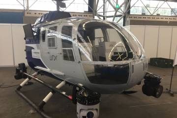 BO 105 on display