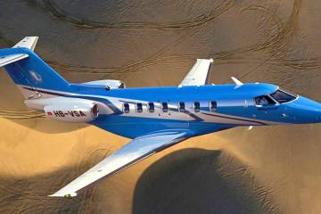 Falcon Aviation is the regional launch customer for the Pilatus PC-24 twinjet with two on order.