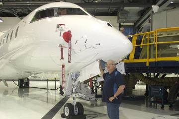 Zenith Jet's 100th Bombardier Global project.