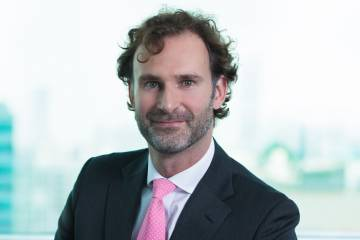 Oliver Tebbit, partner, Watson, Farley & Williams, Dubai
