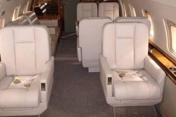 Challenger 604 Interior completion by 328 Design/Duncan Aviation