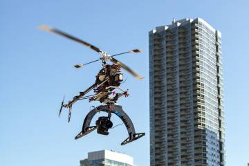 SkyPan International remotely piloted helicopter