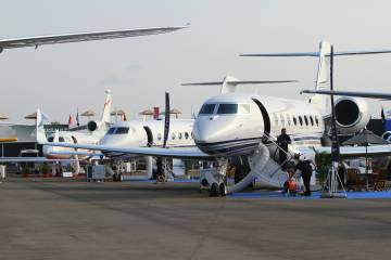 Large business jets